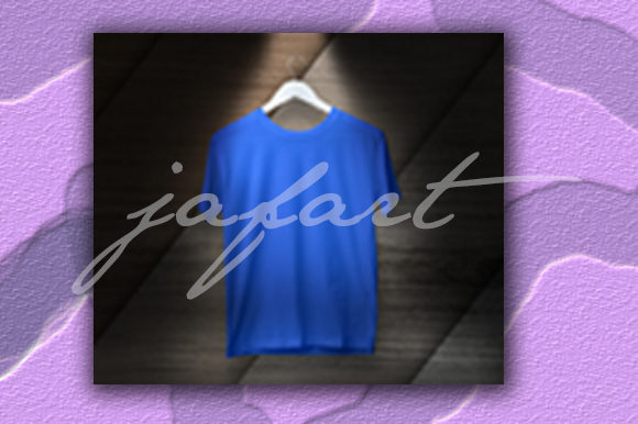 Tshirt Balnk with Lihgt Lamp Effect Graphic Preview