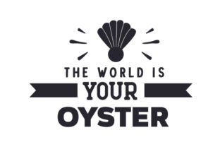 The World is Your Oyster Travel Craft Cut File By Creative Fabrica Crafts