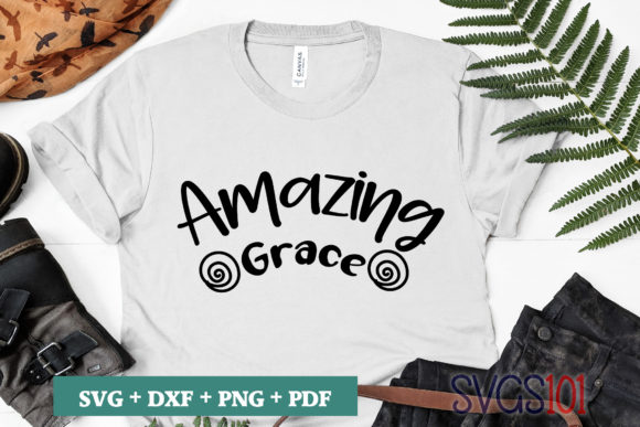 Amazing Grace Graphic Crafts By svgs101