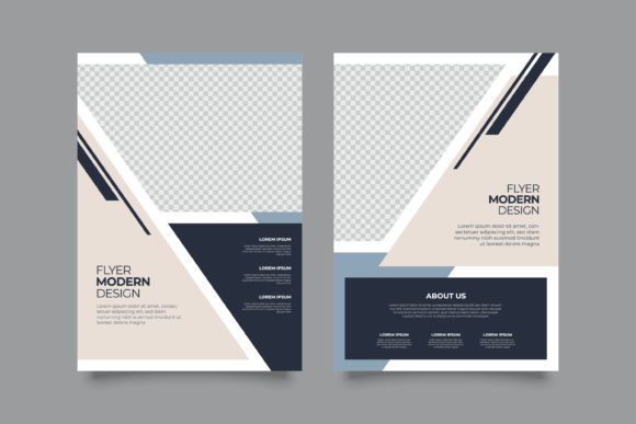 Print on Demand: Business Brochure Flyer A4 Template Graphic Print Templates By Novendi88