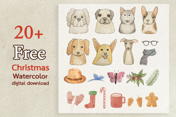 Print on Demand: Christmas Pattern Collection Graphics Graphic Illustrations By Saydung89