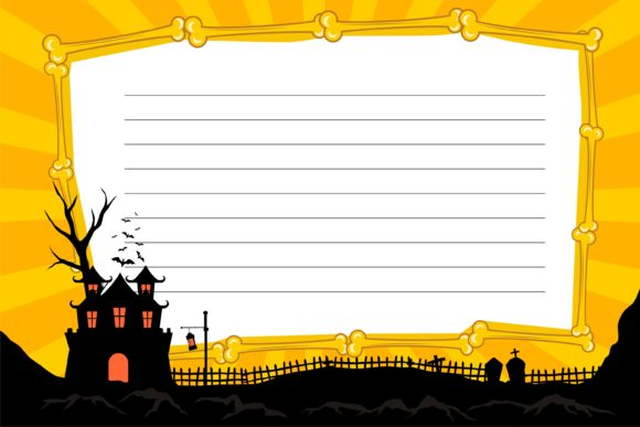 Print on Demand: Halloween KDP Daily Notes Template Graphic KDP Interiors By edywiyonopp