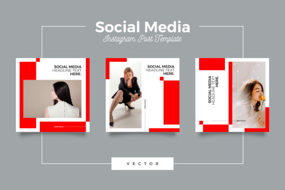 Print on Demand: Multipurpose Instagram Feed Template Graphic Graphic Templates By Novendi88