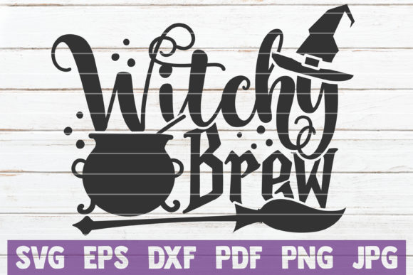 Witchy Brew Graphic Crafts By MintyMarshmallows