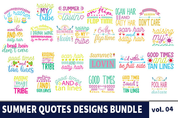 33 Summer Quotes Designs Bundle Graphic By Star Graphics Creative Fabrica