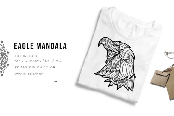 5 Eagle Bundle | Mandala Graphic Item