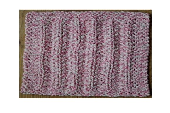 A Rather Seedy Knit Dishcloth or Afghan Graphic