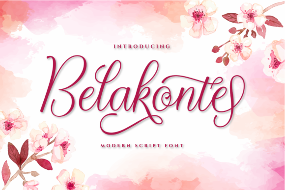 Print on Demand: Belakonte Script & Handwritten Font By ToniStudio