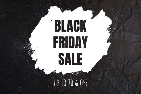 Print on Demand: Black Friday Sale Template Graphic Scene Generators By frostroomhead