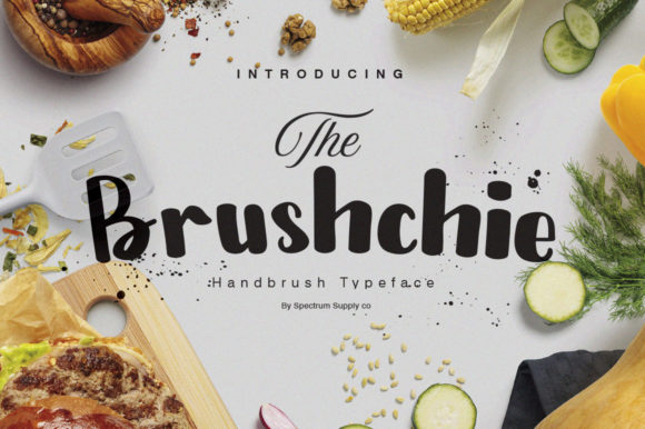 Print on Demand: Brushchie Display Font By spectrumsupply.co