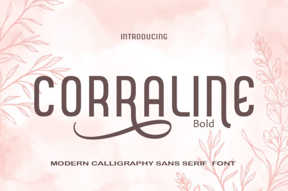 Print on Demand: Corraline Display Font By Canoute Creative
