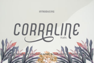 Print on Demand: Corraline Sans Serif Font By Canoute Creative