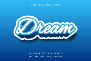 Dream - Text Effect Graphic Add-ons By 4gladiator.studio44