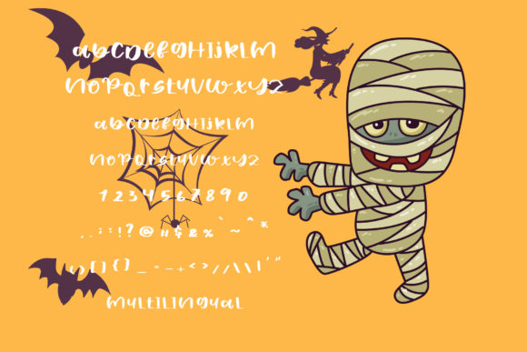 Halloween Day Font Image