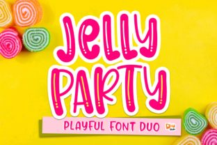 Print on Demand: Jelly Party Display Font By dmletter31