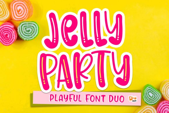 Print on Demand: Jelly Party Display Fuente Por dmletter31
