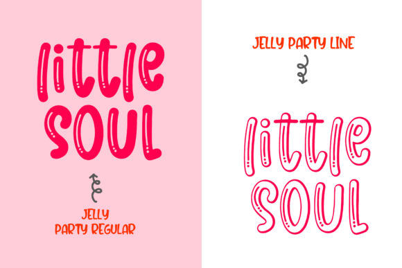 Print on Demand: Jelly Party Display Font By dmletter31 - Image 2