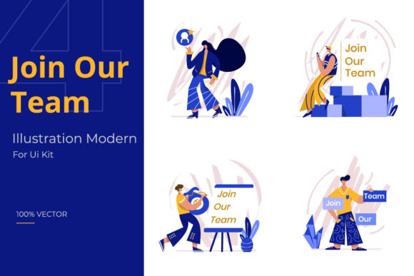 Join Our Team Illustration Graphic Illustrations By Twiri