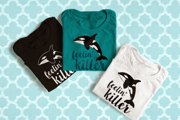 Killer Whale Graphic Crafts By DesignedByGeeks