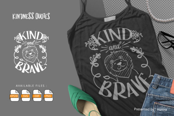 Kind and Brave Graphic