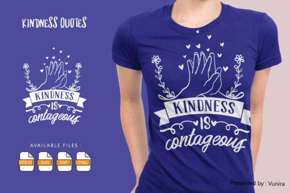 Kindness is Contageou. Graphic
