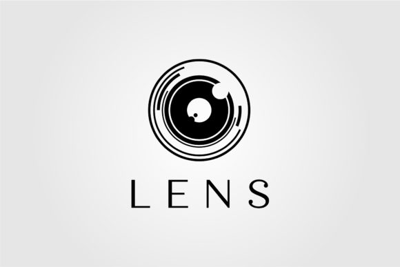 Lens Camera Logo Vector Illustration Graphic Logos By lawoel