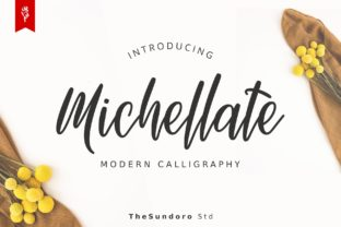 Print on Demand: Michellate Script & Handwritten Font By TheSundoro