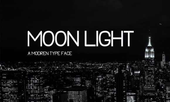 Print on Demand: Moon Light Sans Serif Font By Mytype Studio