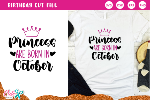 Princess Are Born in September Set Graphic Item