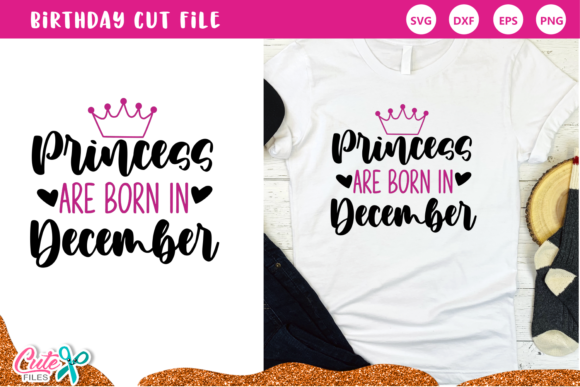 Princess Are Born in September Set Graphic Preview
