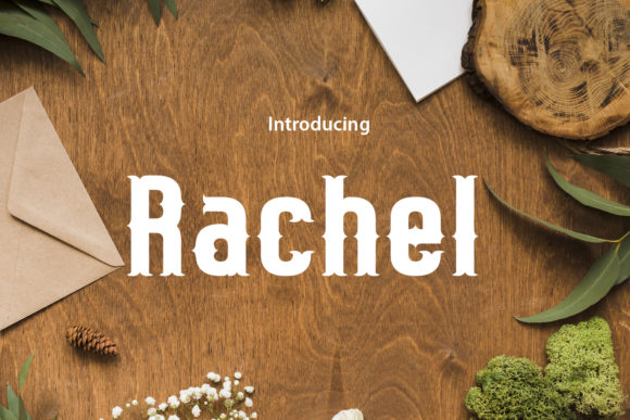 Print on Demand: Rachel Blackletter Font By da_only_aan