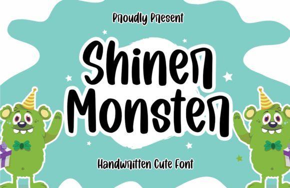 Print on Demand: Shiner Monster Script & Handwritten Font By Typefar