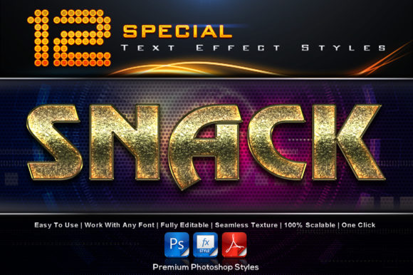 Special Text Effect Styles (3) Graphic Add-ons By MualanaDesign