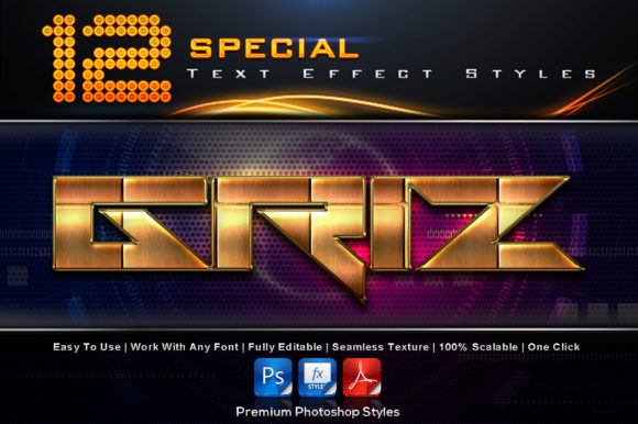 Special Text Effect Styles (9) Graphic Add-ons By MualanaDesign