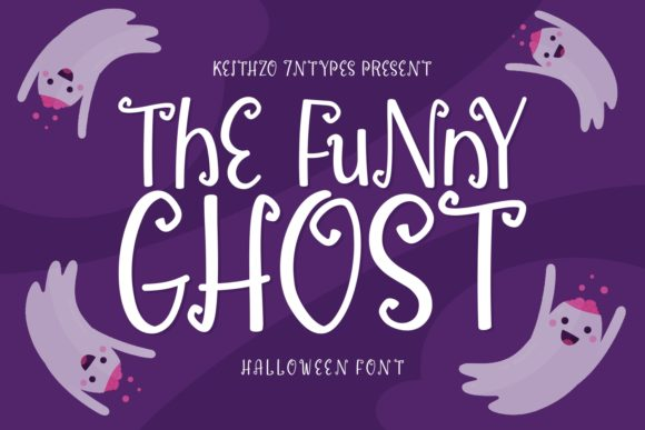 Print on Demand: The Funny Ghost Display Font By Keithzo (7NTypes)