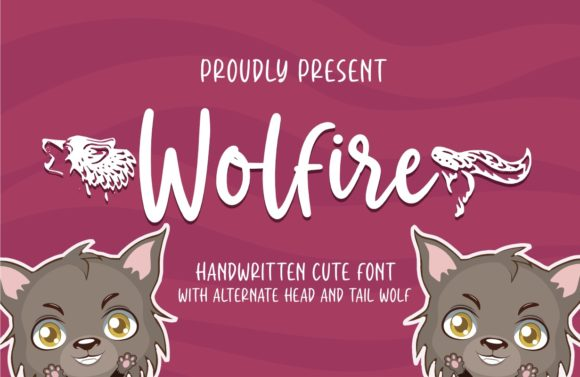 Print on Demand: Wolfire Script & Handwritten Font By Typefar