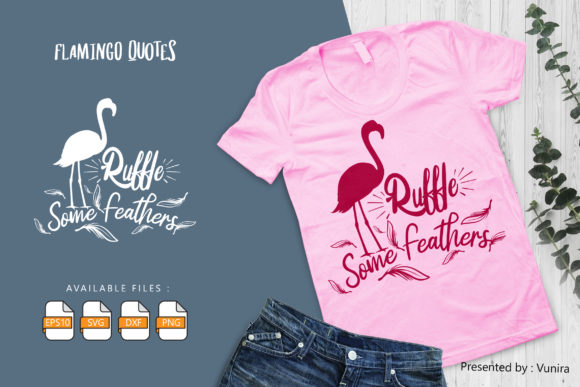 10 Flamingo Bundle - Lettering Quotes Graphic Downloadable Digital File