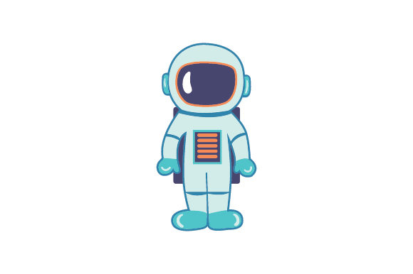 Astronaut Designs & Drawings Craft Cut File By Creative Fabrica Crafts