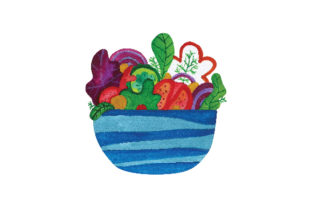Salad Food & Drinks Craft Cut File By Creative Fabrica Crafts