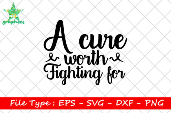 Print on Demand: A Cure Worth Fighting for Graphic Print Templates By Star_Graphics