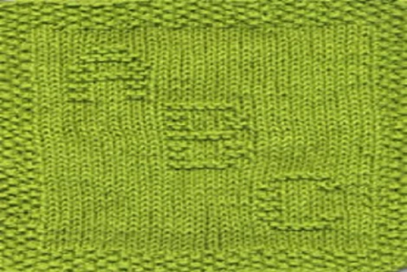 Print on Demand: ABC Knit Dishcloth or Afghan Pattern Graphic Knitting Patterns By Heather Wiegel