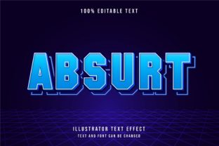 Absurt - Text Effect Graphic Add-ons By 4gladiator.studio44