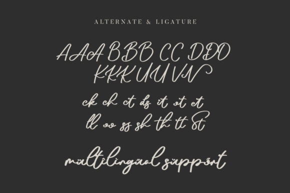 Arthens Font Design Item