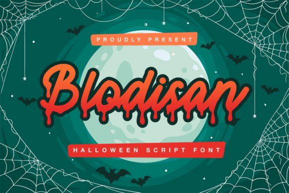 Print on Demand: Blodisan Script & Handwritten Font By Typefar