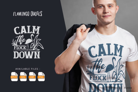 Calm the Flock Down Graphic