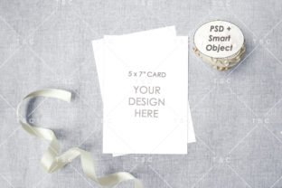 Card Mockup Graphic Product Mockups By thesundaychic