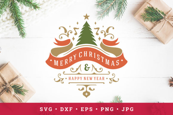 Christmas Saying Design Vector Template Graphic Objects By vasyako1984