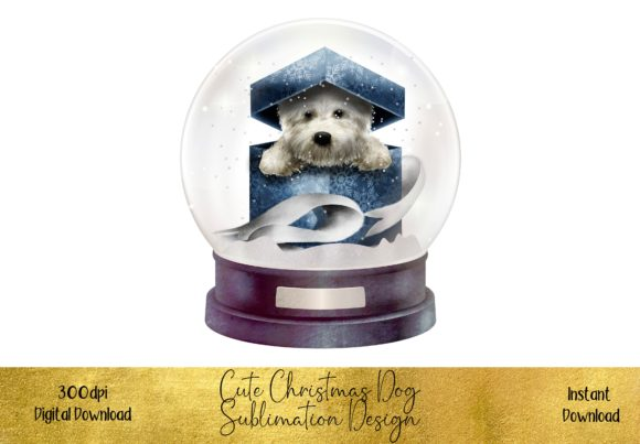 Cute Christmas Dog Graphic Illustrations By STBB