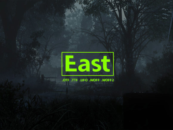 Print on Demand: East Sans Serif Font By Design Stag