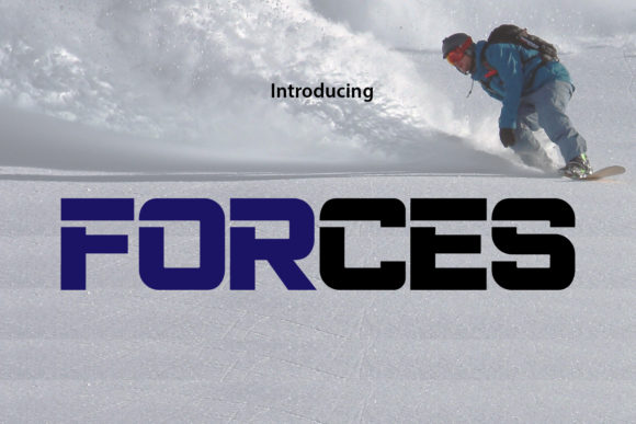 Print on Demand: Forces Display Font By da_only_aan